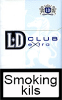 LD Extra Club Blue Cigarette Pack