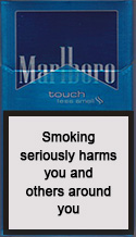 Marlboro Gold Touch Cigarette Pack
