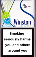 Winston XStyle Duo Menthol Cigarette Pack