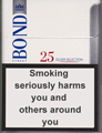 Bond Street Silver Selection 25 Cigarette pack