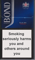 Bond Street Smart Blue 6 Cigarette pack