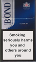 Bond Street Smart Silver 4 Cigarette pack
