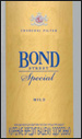 Bond Special Mild Cigarette pack