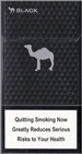 Camel Black Super Slims 100s Cigarette pack