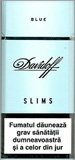 Davidoff Slims Blue Cigarette pack