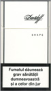 Davidoff Shape White Cigarette pack