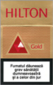 Hilton Gold Cigarette pack