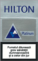 Hilton Platinum Cigarette pack