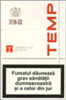 Temp Cigarette pack