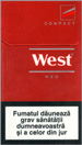 West Red Compact Cigarette pack