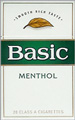 BASIC FULL FLAVOR MENTHOL BOX KING