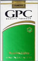 G.P.C. LIGHT MENTHOL KING